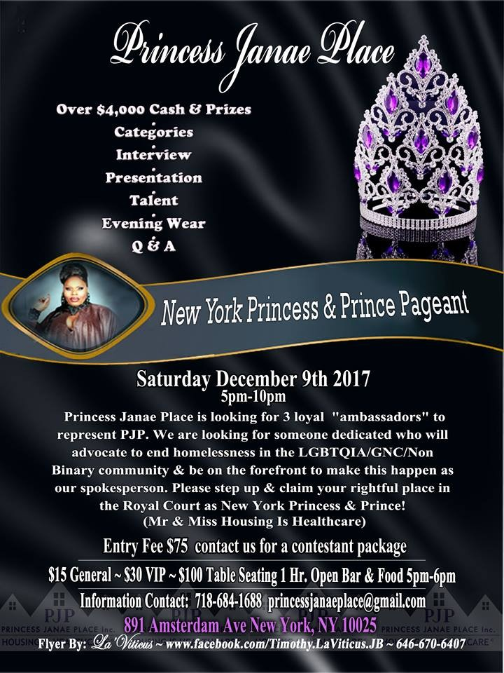 1st Annual Princess Pageant