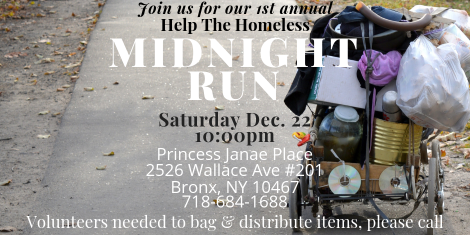 Volunteers needed for Midnight Run!